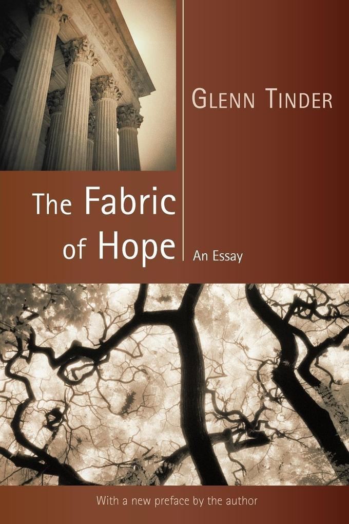The Fabric of Hope: An Essay als Taschenbuch