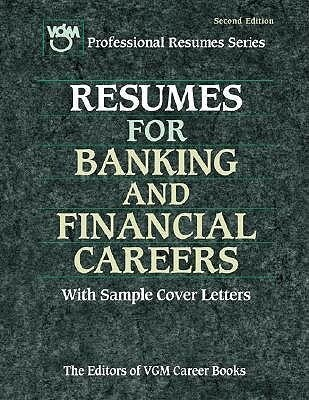 Resumes for Banking and Financial Careers als Taschenbuch