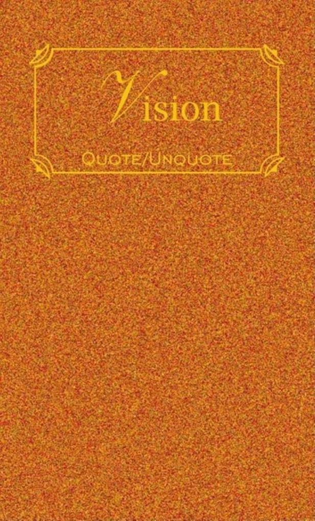 Vision: Quote/Unquote als Buch
