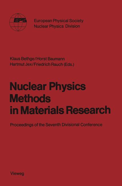 Nuclear Physics Methods in Materials Research als Buch (kartoniert)