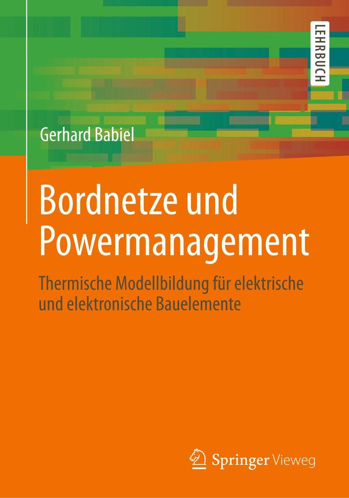 9783658015589 - Bordnetze und Powermanagement - Babiel, Gerhard