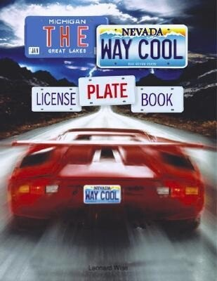 The Way Cool License Plate Book als Taschenbuch