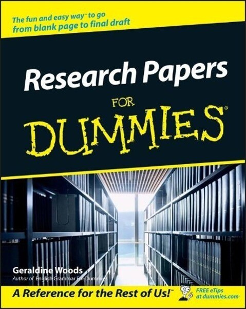 Research Papers for Dummies als Taschenbuch