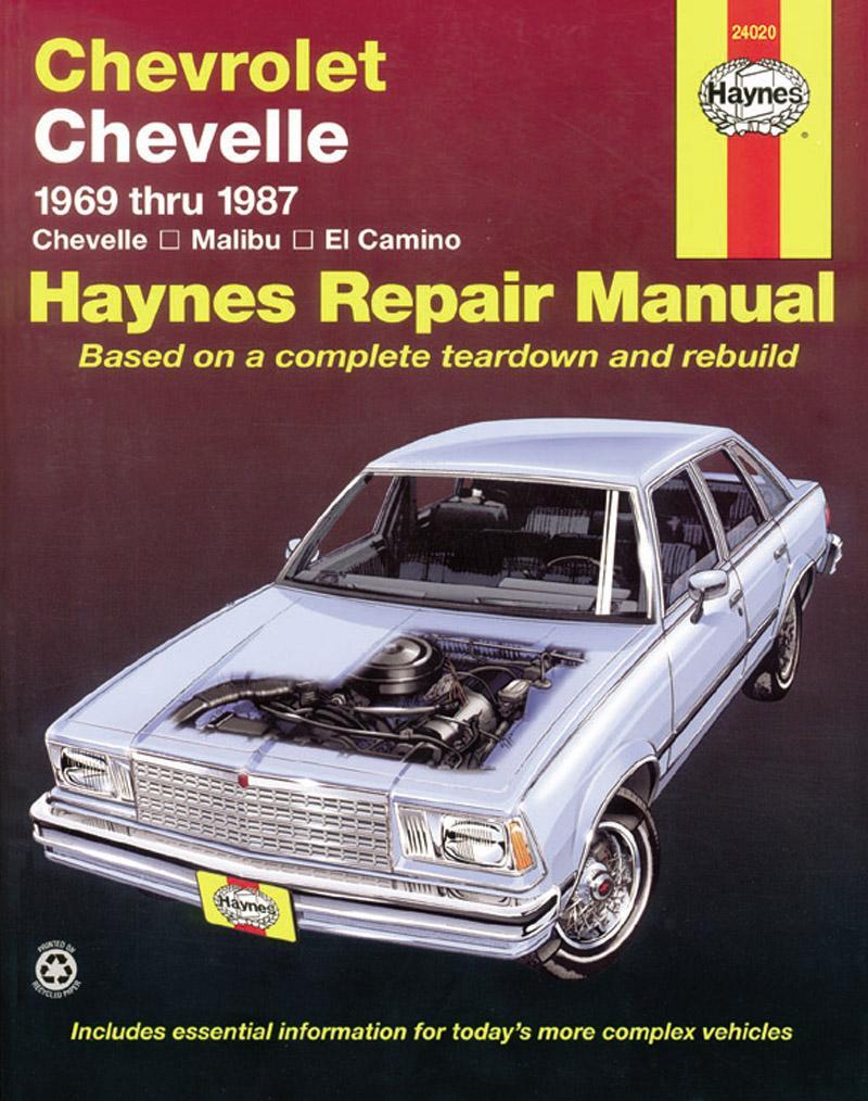 Chevrolet Chevelle, Malibu and El Camino: 1969 Thru 1987 als Taschenbuch