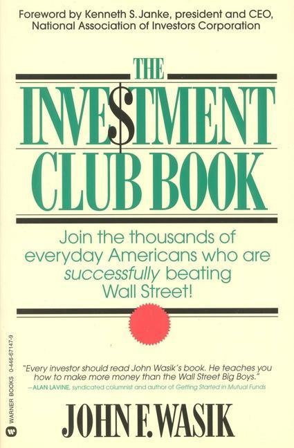 The Investment Club Book als Taschenbuch