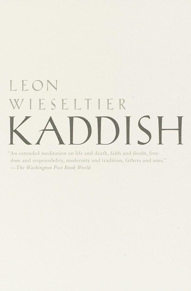 Kaddish als Taschenbuch