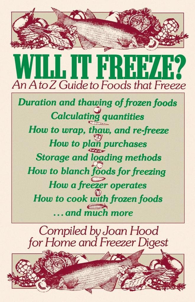 Will It Freeze? als Taschenbuch