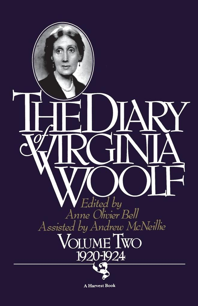 The Diary of Virginia Woolf, Volume 2: 1920-1924 als Taschenbuch