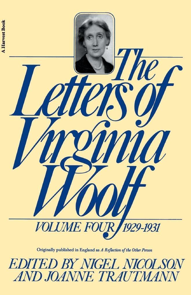 The Letters of Virginia Woolf: Volume IV: 1929-1931 als Taschenbuch