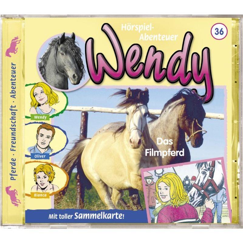 Wendy 36. Das Filmpferd. CD als Hörbuch