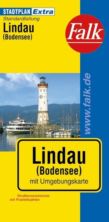 Falk Stadtplan extra Standardfaltung Lindau (Bodensee) 1 : 15 000 als Buch