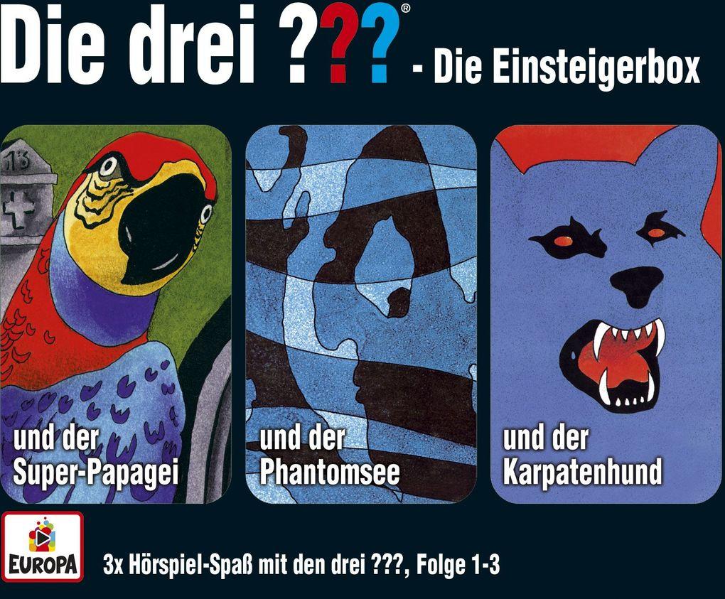 Die drei ??? Box 01. Folgen 1-3 (drei Fragezeichen) 3 CDs als Hörbuch