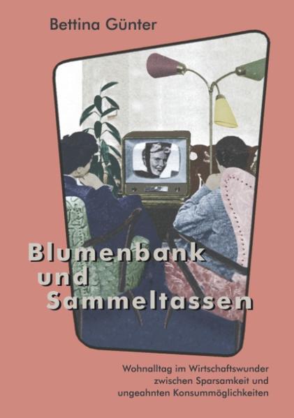 Blumenbank und Sammeltassen als Buch