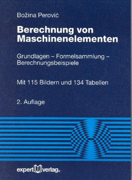 Berechnung von Maschinenelementen als Buch