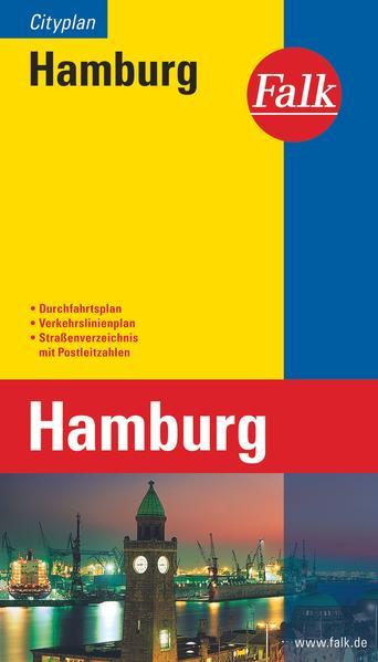 Falk Cityplan Hamburg 1 : 25 000 - 1 : 27 000 als Buch