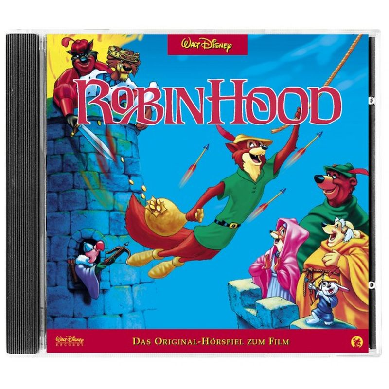 Robin Hood. CD als Hörbuch