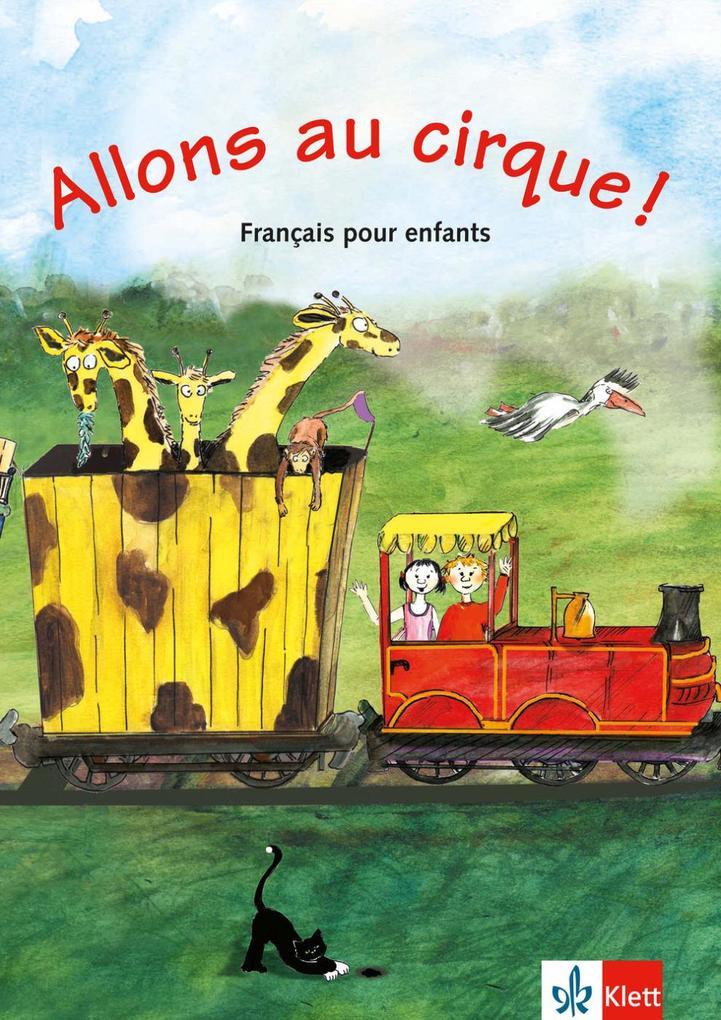 Allons au cirque! als Buch