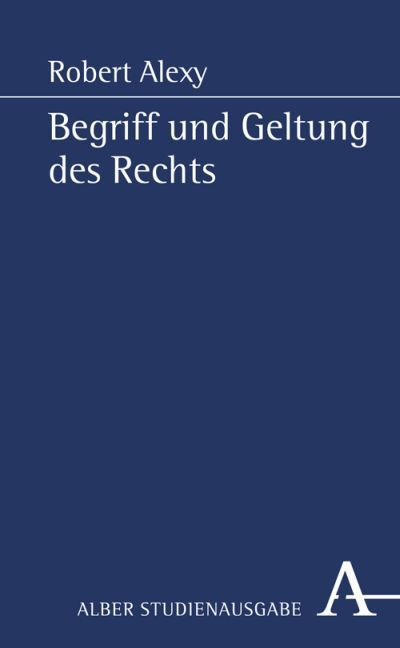 Begriff und Geltung des Rechts als Buch