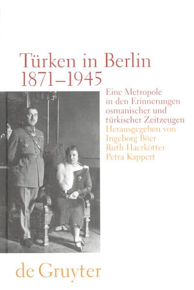 Türken in Berlin 1871 - 1945 als Buch