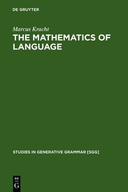 The Mathematics of Language als Buch