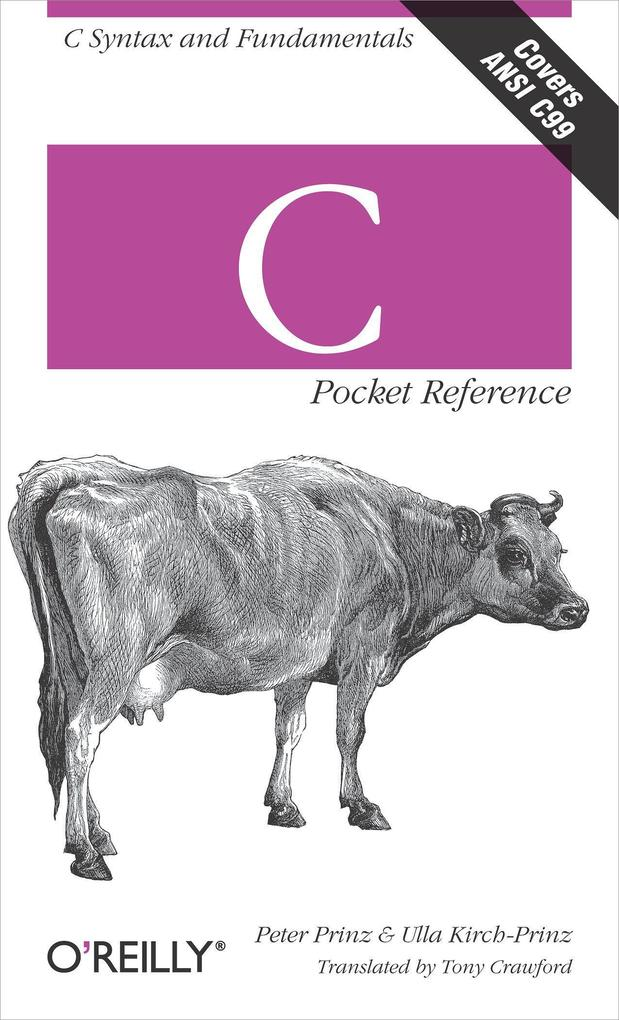 C Pocket Reference als Buch