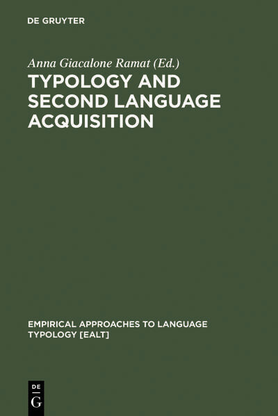 Typology and Second Language Acquisition als Buch