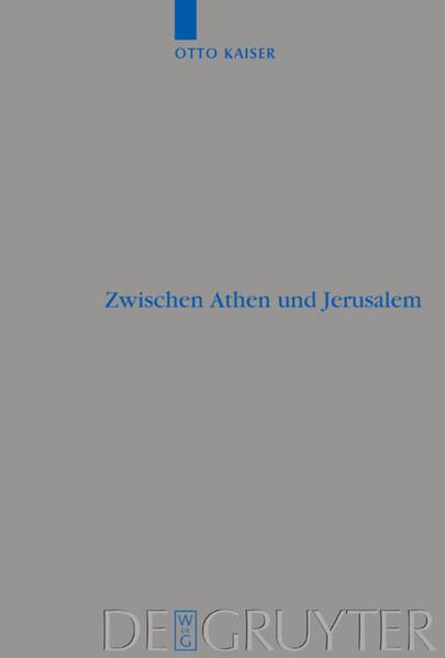 Zwischen Athen und Jerusalem als Buch