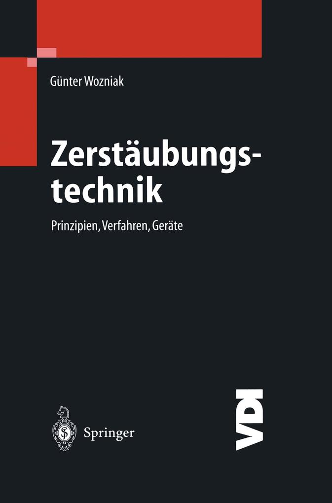Zerstäubungstechnik als Buch