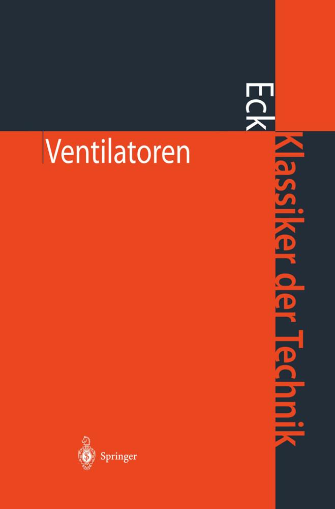 Ventilatoren als Buch