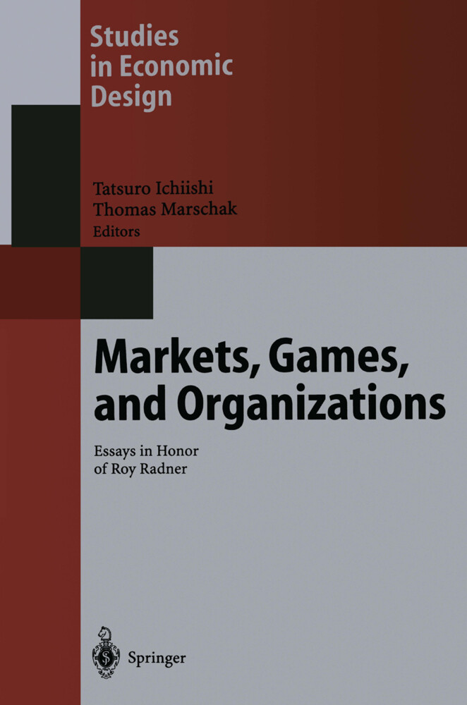 Markets, Games, and Organizations als Buch