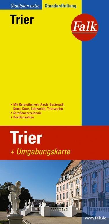 Falk Stadtplan Extra Standardfaltung Trier 1 : 20 000 als Buch