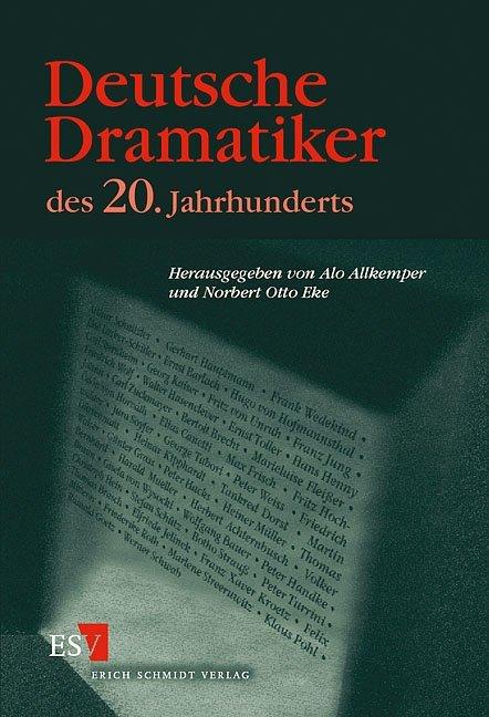 Deutsche Dramatiker des 20. Jahrhunderts als Buch