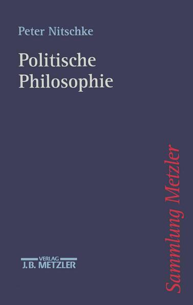 Politische Philosophie als Buch