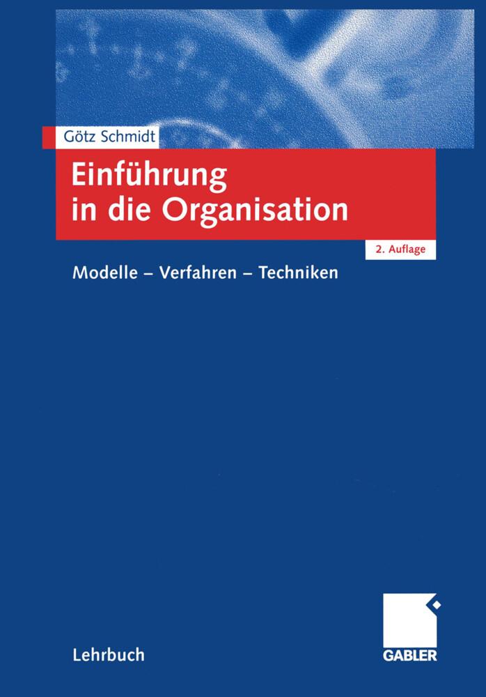 Einführung in die Organisation als Buch
