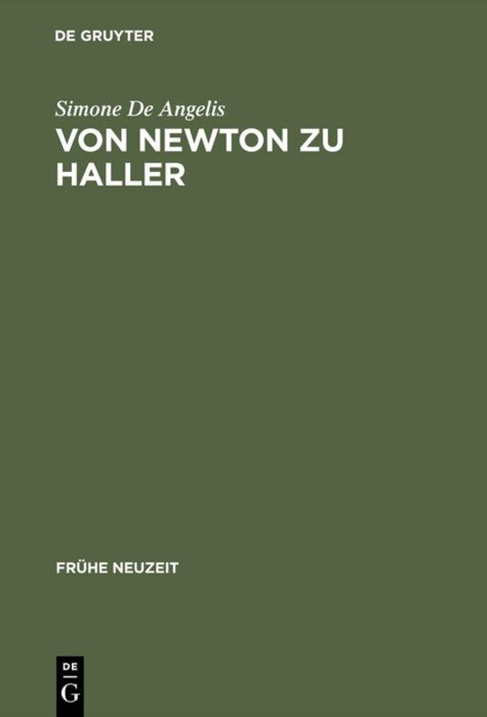 Von Newton zu Haller als Buch