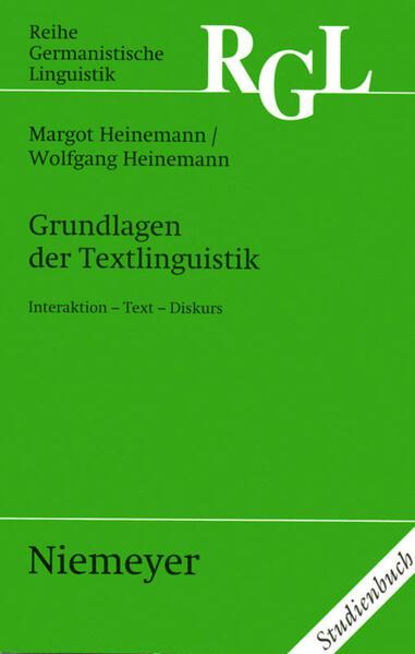 Grundlagen der Textlinguistik als Buch