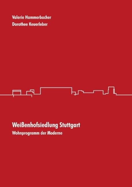 Weißenhofsiedlung Stuttgart als Buch
