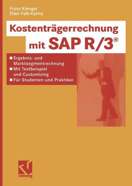 Kostenträgerrechnung mit SAP R/3 als Buch