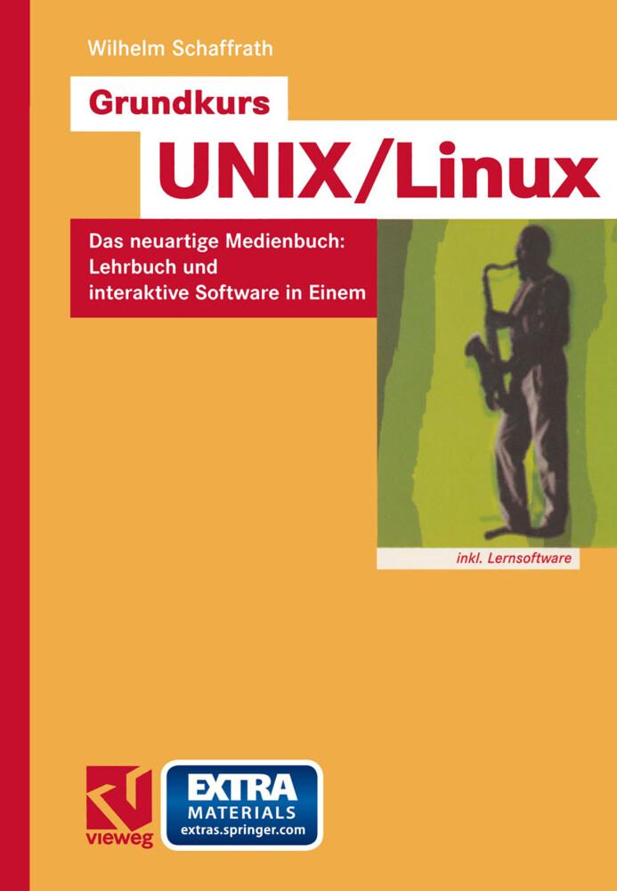 Grundkurs UNIX/Linux als Buch