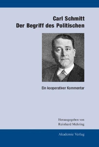 Der Begriff des Politischen als Buch