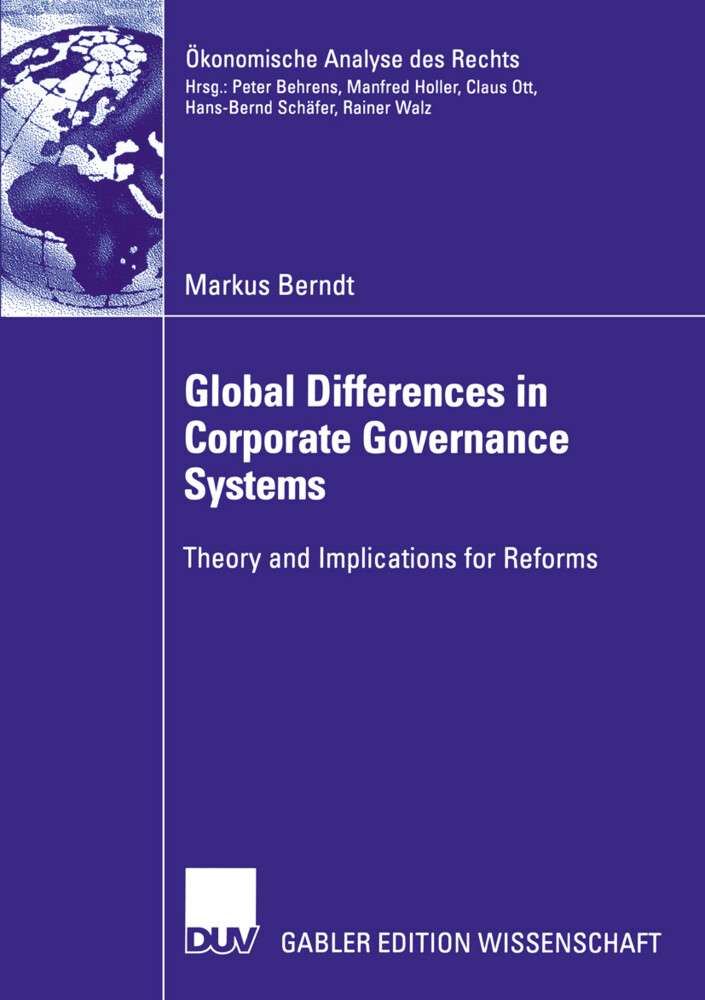 Global Differences in Corporate Governance Systems als Buch