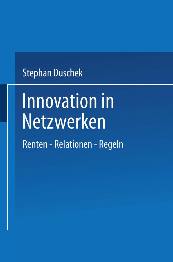 Innovation in Netzwerken als Buch