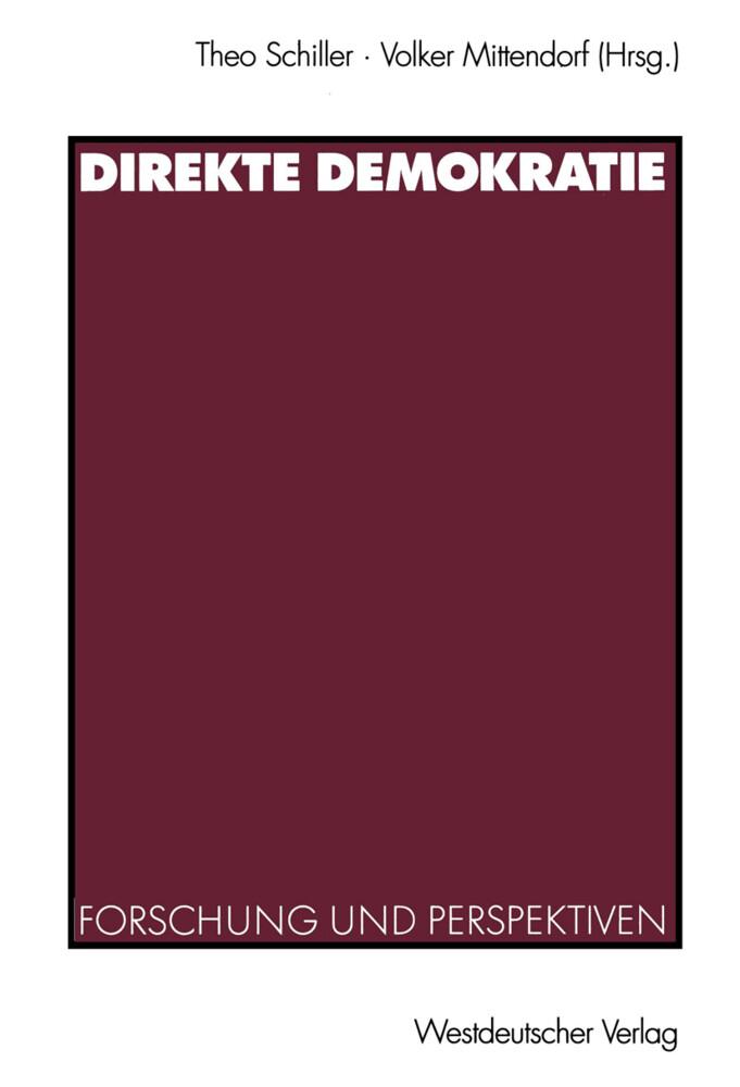 Direkte Demokratie als Buch