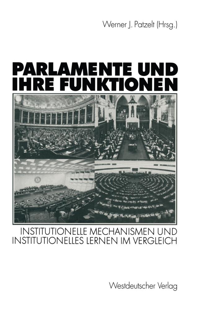Parlamente und ihre Funktionen als Buch