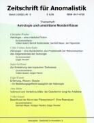 Zeitschrift für Anomalistik 2. Nr. 3 als Buch