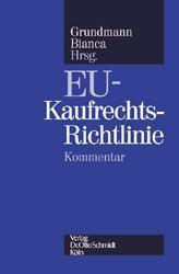 EU-Kaufrechts-Richtlinie als Buch