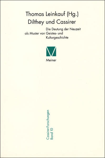 Dilthey und Cassirer als Buch