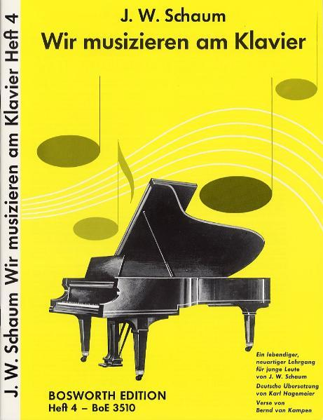Wir musizieren am Klavier 4 als Buch