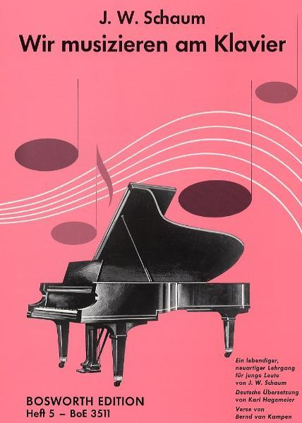 Wir musizieren am Klavier 5 als Buch