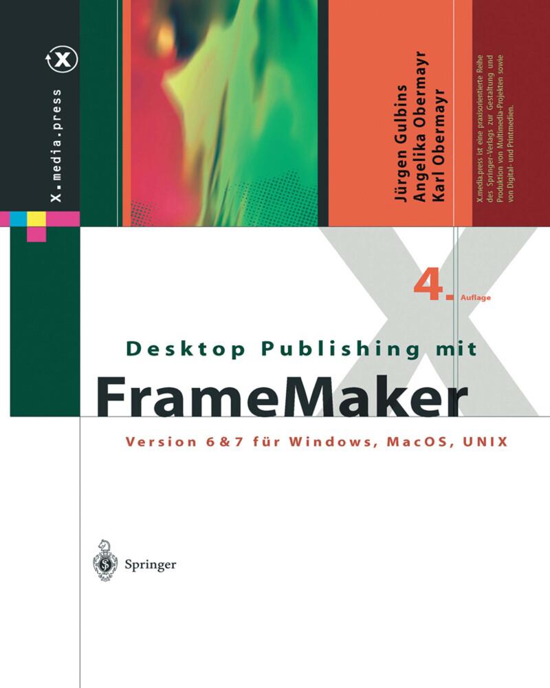 Desktop Publishing mit FrameMaker als Buch